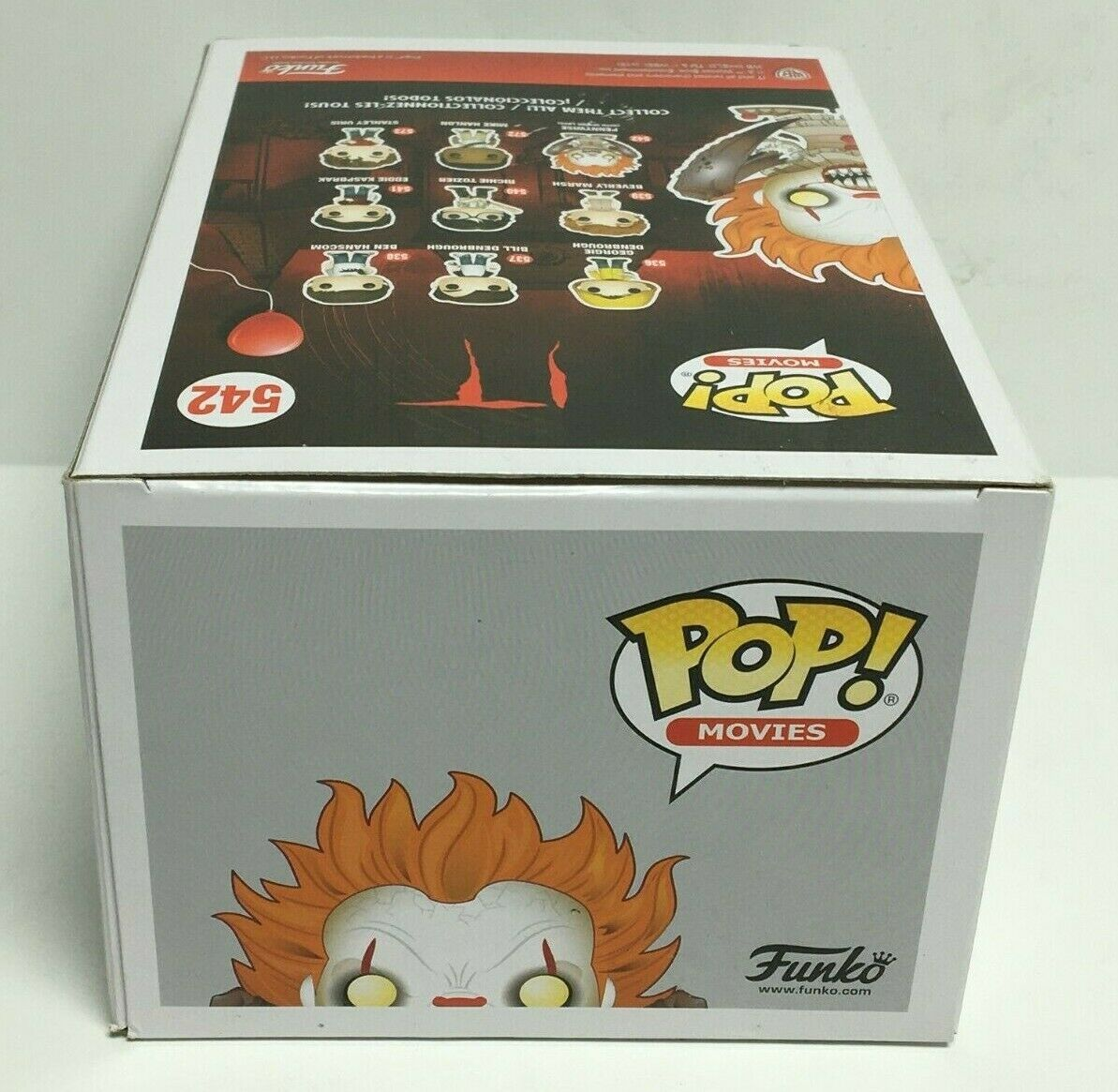 Funko Pop Movies IT Pennywise with Spider Legs #542 Without Box
