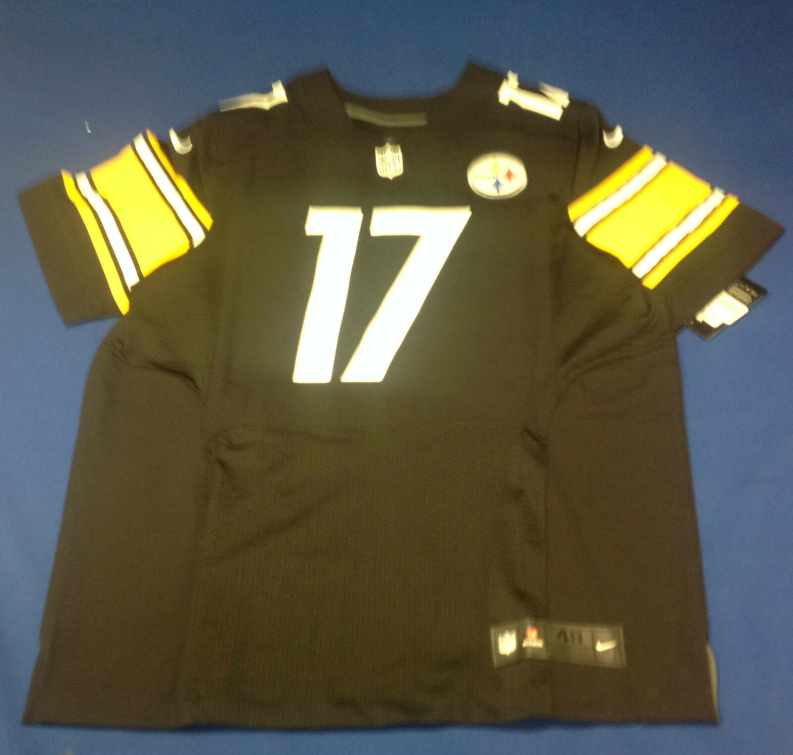 Mike Wallace signed Pittsburgh Steelers Nike Jersey GAI Cert# GV731509